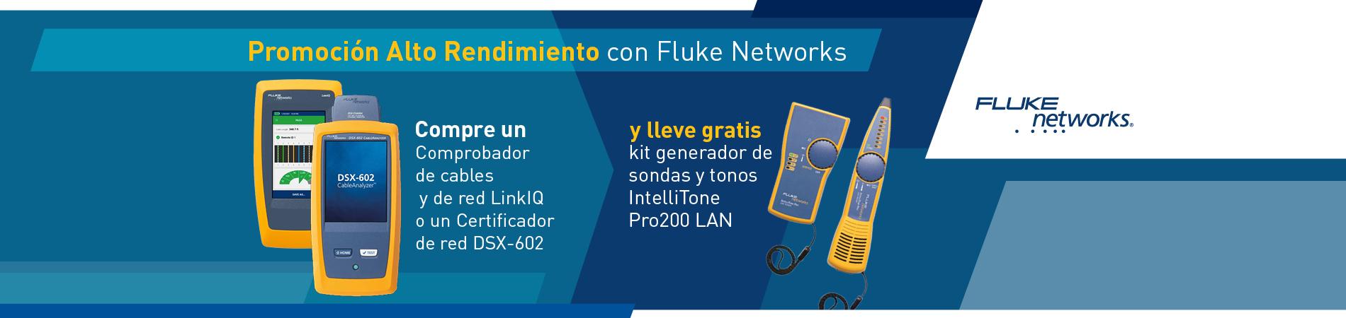 Promoción LinkIQ y DSX-602 Fluke Networks